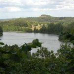 Die Gegend um das Gościniec Castle Mountain